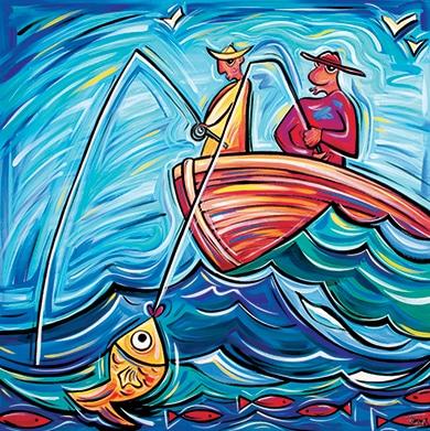 6 the fisherman e