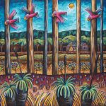 'Galahs over Fairbridge' SOLD