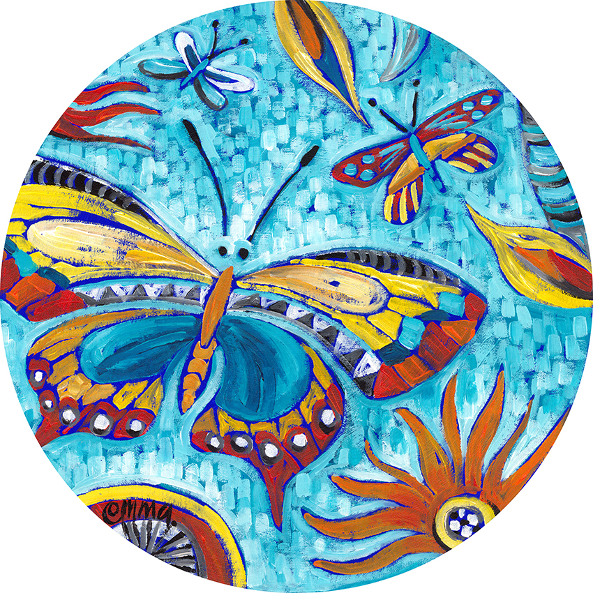 aqua butterfly e