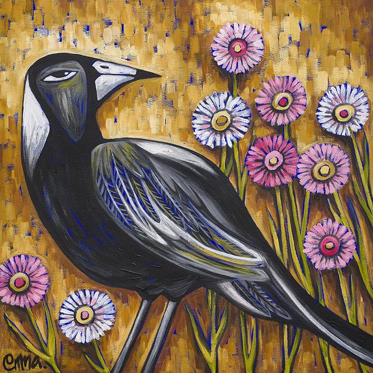 magpies garden e