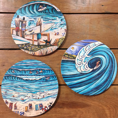 Round Wall Plaques