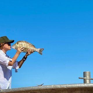 Love a good day on the water 💦 ...#emmablyth #art #fishingwa #fish #broomefishing #visitwa #waartist #love #australia #reefchiefaustralia #amazing_wa #thisiswa #seenwa