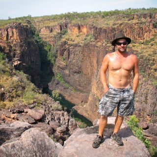 25 years with this gorgeous man ❤️ What a time we've had - and he's still the best thing ever. Photo: 2009 NT - Top End Trip....#emmablyth #art #love #anniversary #forever #australiasnorthwest #wanderoutyonder #explorewa #seeaustralia #roadtrip