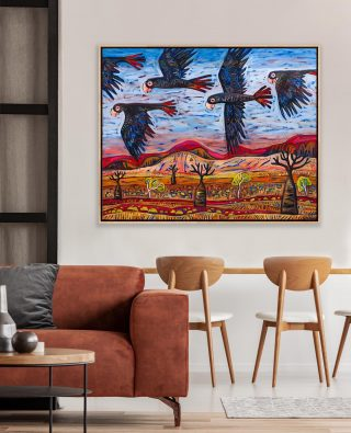 'Girls Night Out' XLarge stretched canvas print ✨ Shop all my prints online - Link in bio. If you need any help please phone my Mandurah Gallery on 0491 201 375 or email info@emmablyth.com.au. Cheers! Emma 😆...#emmablyth #art #gallery #visitwa#blackstumpgallery #australia #australianart #waartist #original #interiorstyle #artworkaustralia #australianmade #interiordesign #color #colorpop #home #colourfulhome #artforsale #colorfulinterior #affordableart #interiorstylist #oneofakind #thisiswa #australianartist